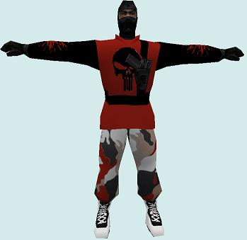 Mods artic reskin (red and black) CS 1.6